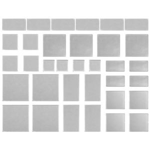 Tim Holtz Office - TIM HOLTZ FRAGMENTS Acrylic Shapes for Crafts
